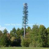 Высокое качество гальванизировало закамуфлированную сообщением башню телекоммуникаций вала Bionice искусственную