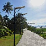 Батарея лития 20W уличного света датчика движения PIR солнечная 30W 40W 50W 60W
