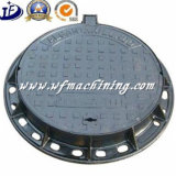 Soem Ductile/Grey Iron Sand Casting Cast Iron Drain Manhole Cover für Sewer Dränage Cover
