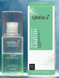 Liquide de nettoyage profond cosmétique de Qbeka pour le solvant de Madame Makeup Remover Eye Makeup (80ml)