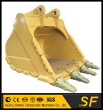 Cubeta da rocha da máquina escavadora do profissional 380, cubetas pesadas do equipamento