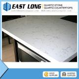 Das lajes brancas de /Quartz das bancadas da pedra de quartzo da faísca de Whosale preço barato