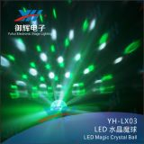 디스코 RGB DJ를 위한 수정같은 LED 마술 공 빛은 무대 효과 점화를 때린다
