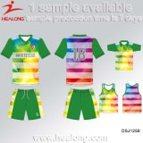 Stripe Fashion Design personnalisé Football Kit Sportswear