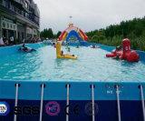 Pool van het Frame van pvc van het Ontwerp van het Water van Coco de Opblaasbare voor Commerical LG8090