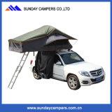 Zelte Wholesale Aluminiumlegierungs- Karosserie Contruction Auto-Zelt-kampierendes Zelt für 2-4 Personen