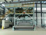 geweven Machine van Spunbond van het Polypropyleen van het Ontwerp SMMS van 2.4m de Nieuwste niet