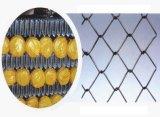中国の工場によって電流を通されるチェーン・リンクの塀またはダイヤモンドの金網