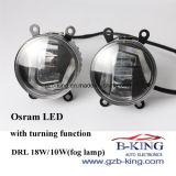Foglamp universal novo do diodo emissor de luz de Osram com função de giro
