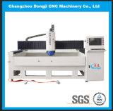 Máquina de vidro 3-Axis horizontal da afiação do CNC para o auto vidro