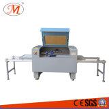 Cortadora doble del laser de la eficacia con la plataforma cambiable llana (JM-960T)