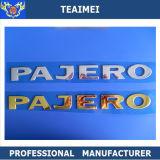 自動Accesstory車のロゴの文字のPajeroの紋章のバッジ