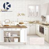 Плитка стены белого мраморный взгляда лоснистая поверхностная керамическая для кухни
