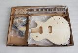 Nécessaire de guitare électrique de nécessaire de guitare de Lp de coupure de commande numérique par ordinateur en bois solide