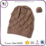 Шлем зимы Knit Beanie изготовленный на заказ заплаты длинний акриловый