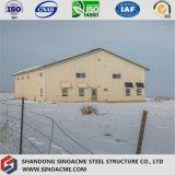 Construction de structure métallique de Long-Envergure pour l'atelier