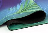 Estera de goma impresa aduana de la yoga del árbol natural de Sumbimation Eco de la mandala de OM
