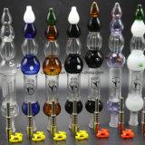 チタニウムの釘が付いている7本のカラー果汁のコレクター14mm/18mmガラスの管