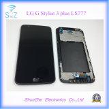 LG Gスタイラス3プラスLs777のための元の可動装置の携帯電話のタッチ画面LCD