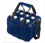 Refroidisseur personnalisé de bouteille du néoprène de paquet de six avec le transporteur d'emballage