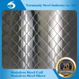 ASTM 202 a gravé la feuille en relief d'acier inoxydable avec différentes configurations