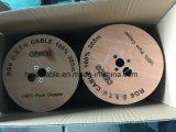 Кабель CCTV RG6 камеры ETL с охватом 90% (18AWG/2DC)