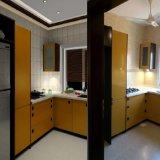 Les Modules de cuisine modernes de type d'usine autoguident des meubles