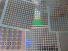 PlastikMembership Card mit Hologram Logo/Artwork Hotstamping