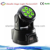 disco Light Moving Head de 7PCS Mini Stage