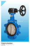 Ferro de molde/válvula de borboleta de aço do assento Flange/Lug/Wafer de PTFE