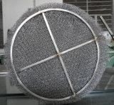 Almofada do engranzamento de fio do desembaçador, eliminador de névoa (aço inoxidável, plástico ou PTFE)