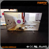 Frameless 승진을%s 알루미늄 직물 LED 가벼운 상자