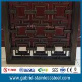 Fabricante decorativo de la pantalla del acero inoxidable 201