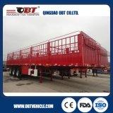 De Semi Aanhangwagen van de Omheining van het Vervoer van de Lading stortgoed