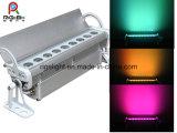 Neuestes Wand-Unterlegscheibe-Licht RGB-3in1 9*3W IP65 im Freien wasserdichtes LED