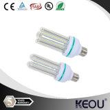 AC85-265V E27 B22 유백색의/서리로 덥은 덮개 LED 옥수수 전구