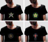 Van de LEIDENE van de T-shirts van Gr de T-shirt Mensen van T-shirts