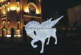 3D Acrylic Light (High Class 장소 Decoration로 BW-SC-202) Fly Horse Holiday Lights