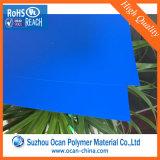 オフセット印刷のための青いマットPVCシート
