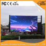 Panneau-réclame extérieur polychrome de Digitals de message d'étalage de signe de P6 DEL pour la publicité