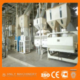 Автоматическо завершите проваренный слегка завод риса филируя, машину риса обрабатывая