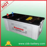 Good Quality JIS 180ah 12V Dry Charge Heavy Duty Truck Battery N180