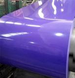 Bobine d'acier prépainée PPGI avec des couleurs Ral