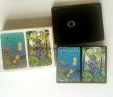 Playingcards mit Zinn-Verpackung, Zinn-Kasten