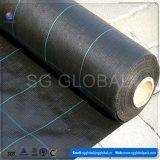 Tessuto di plastica del coperchio al suolo del nero pp della Cina
