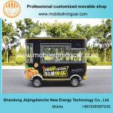 Jiejing exquisito carrito de comida rápida para la venta