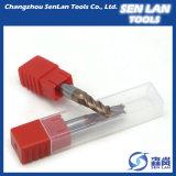 Твердые торцевые фрезы карбида для подвергать механической обработке CNC