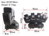 TRÄGER-Stab-Licht des Vierradantriebwagen-Träger-4X12W LED bewegliches Hauptmit Unterseite