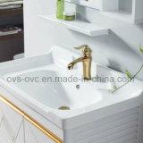 Governo di stanza da bagno di alluminio pieno di stile moderno con lo specchio