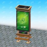 Casella chiara Backlit a energia solare economizzatrice d'energia (condizione del pavimento)